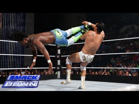 Kofi Kingston vs. Alberto Del Rio: SmackDown, July 18, 2014