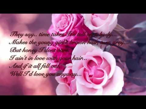 Randy Travis-Forever and ever amen (lyrics)