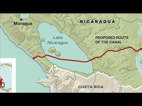 Will Nicaragua Build Massive Canal Despite Environmental Opposition?