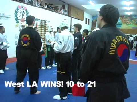 Team Sparring: Kick Punch Throw Fighting - Hwa Rang Do Image 1