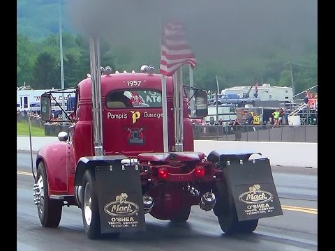 #2 Big Rigs arival 2nd annual keystone deisel truck nationals 7-26-14