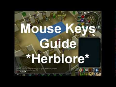 Runescape – Herb Cleaning Guide *Mouse Keys*