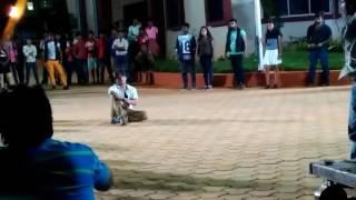 Babushan Shooting 'Sister Sridevi' Song At KIIT Hostel