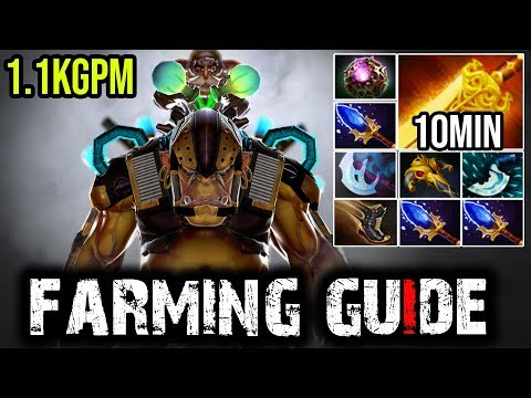 You Want to Fast Farm? Then Watch This [Alchemist] 10Min Radiance | Dota 2 Full Game
