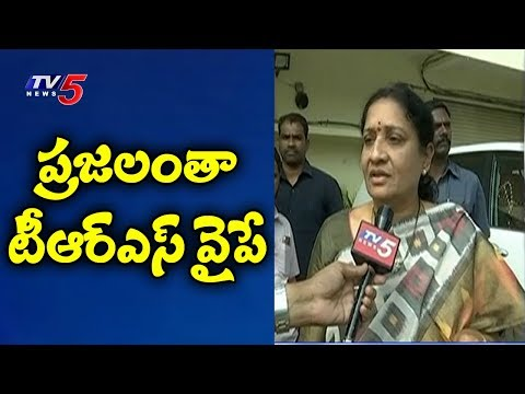 Congress Leader Akula lalitha Face To Face On Joining In TRS | TV5 News