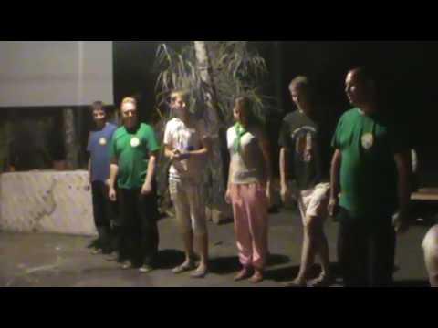 Сценка о единстве Если бы нас не было. Молодежный лагерь 2012. Мариуполь