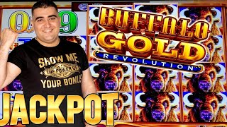 Buffalo Revolution Slot Machine HANDPAY JACKPOT | Live Slot Play At Casino | SE-3 | EP-3