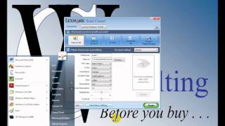 Lexmark X364dn Network & Software Installation