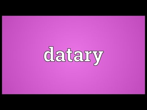 Header of datary