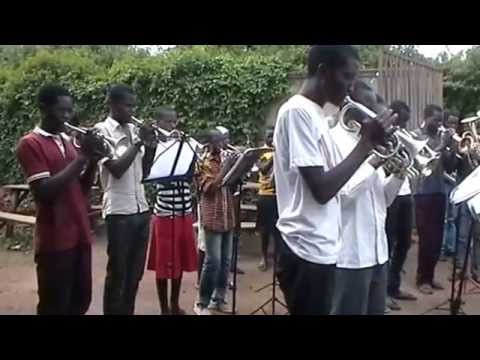 Castell Coch played by Mbale Schools Band