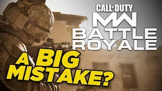 Is Modern Warfare's 200 Player Battle Royale A Mistake?