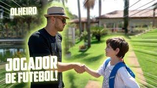 O OLHEIRO GOSTOU DO MENINO!! - ( JOGADOR DE FUTEBOL ) #2