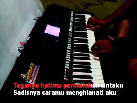 Sakitnya Tuh Disini Versi SYIAR MUHAMMAD Karaoke Dangdut Koplo Yamaha PSR S750