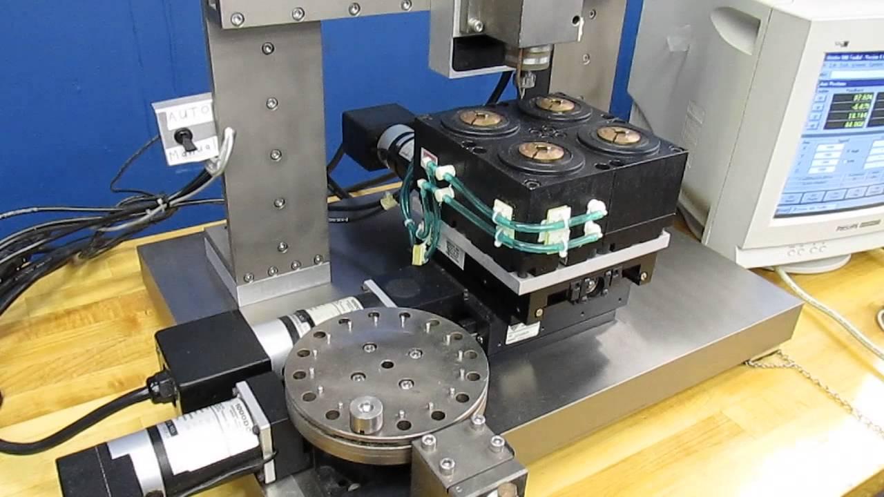 Custom Aerotech 4 Axis Cnc Benchtop Milling Machine W