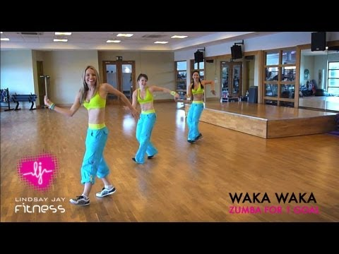 WAKA WAKA CHOREOGRAPHY WITH HOLLIE TAYLOR, LINDSAY JAY AND LAURA BENNETT - 1 SONG, 1 DANCE, 1 GOAL!