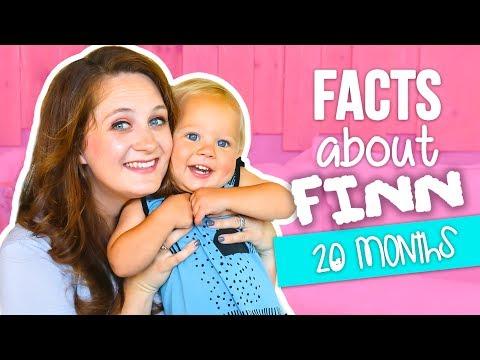 FACTS ABOUT FINN 20 MONTHS