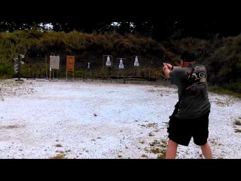 Running & Gunning with a Mech Tech CCU Glock 19 Round 1