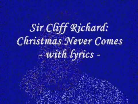 Cliff Richard - Christmas Never Comes