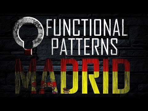 Functional Patterns Certificacion en Madrid Espana