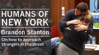 On how I approach strangers in the street | Humans of New York creator Brandon Stanton | UCD, Dublin