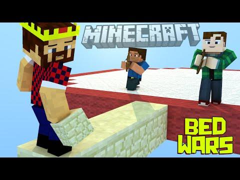 ПОД ПРИКРЫТИЕМ ЛУЧНИКОВ - Minecraft Bed Wars (Mini-Game)