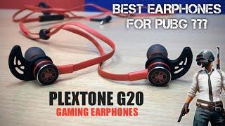 PLEXTONE G20 GAMING EARPHONES Review in Hindi | Best EARPHONES For PUBG Mobile 2019???