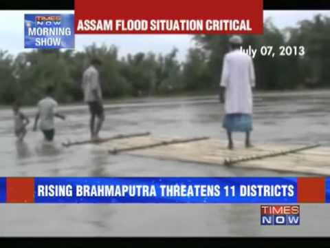 Assam flood situation critical