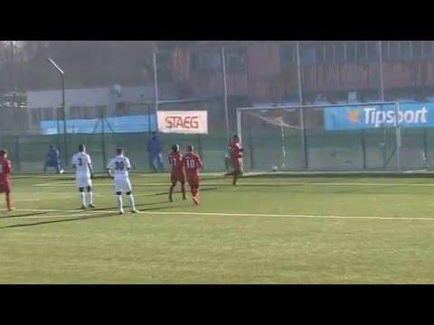 Sestřih našich gólů z přípravného utkání Baník vs. Zbrojovka Brno (5:3)