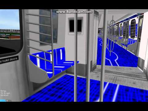 OpenBVE NYC: Why Open Gangways In Between Cars Would Be Impractical for the R211