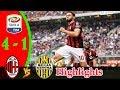 AC Milan vs Hellas Verona 4-1 | All Goals & Highlights | 05/05/2018