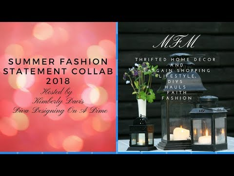 Summer Fashion Statement Collaboration | Hosted by Kimberly Davis Diva Designing On A Dime | MFM