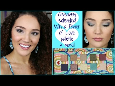 GIVEAWAY ANNOUNCEMENTS, Summer Makeup Tutorial ft. Pacifica Power of Love