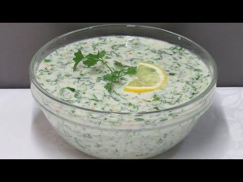 """""""Таратор"""" - Холодный Огуречный Суп"""