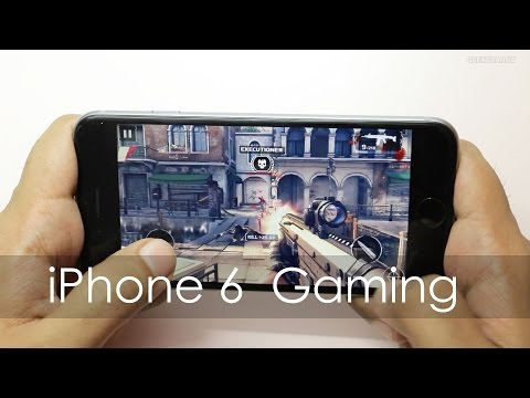 iPhone 6 Gaming Review with HD Games & Temp Check