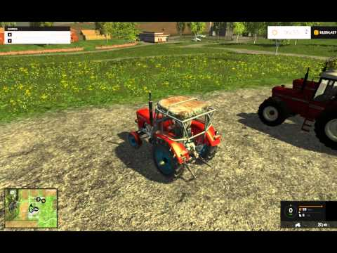 URSUS C-355 FS15  V1.0 testing Farming Simulator 2015
