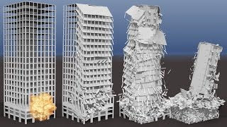 Collapse of Residential Highrise, Building #3 Overview (FP7, INACHUS, VITRUV)