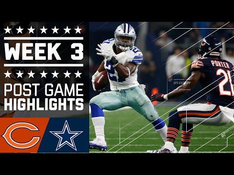 Bears vs. Cowboys (Week 3) | Post Game Highlights | NFL