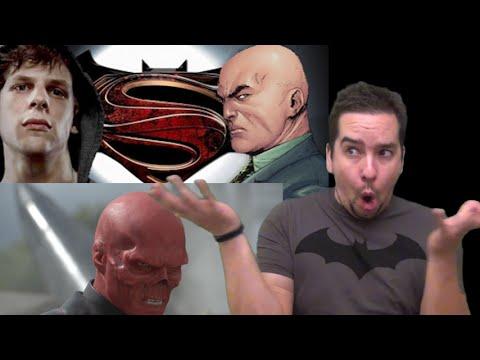 Jesse Eisenberg Talks Lex Luthor! Captain America 3 Villain Teased?!