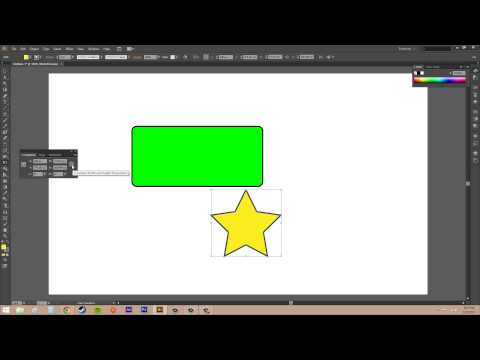 Adobe Illustrator CS6 for Beginners - Tutorial 34 - Free Transform Tool