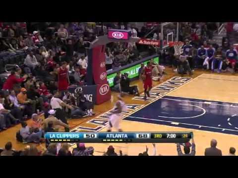 Los Angeles Clippers vs Atlanta Hawks 11/24/12