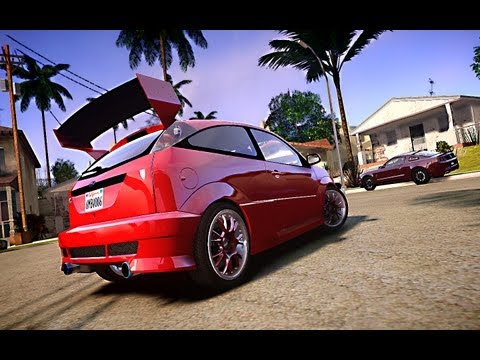GTA IV San Andreas BETA - Ford Focus SVT - Model From: Forza 4 [MOD] HD 1080p