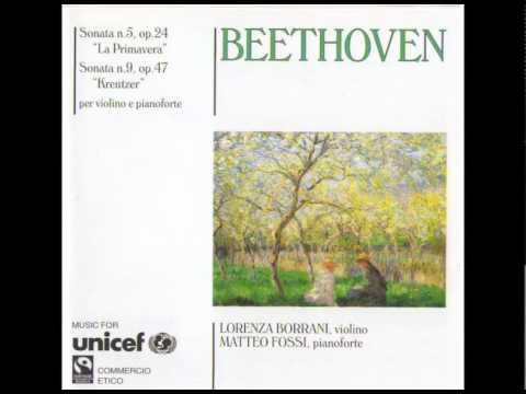 Matteo Fossi, Lorenza Borrani – Beethoven sonata n 5 op 24 – Scherzo