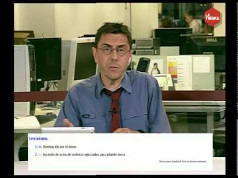 Juan Carlos Monedero: La Real Academia de la Lengua es ETA
