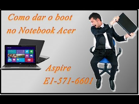 Como dar o boot no Notebook Acer