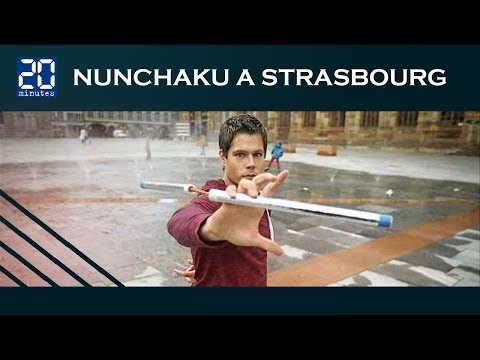 ► 20minutes Strasbourg | Nunchaku Freestyle | OBERLE Stéphane