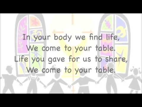 WE COME TO YOUR FEAST ~ February 9, 2016 - YouTube