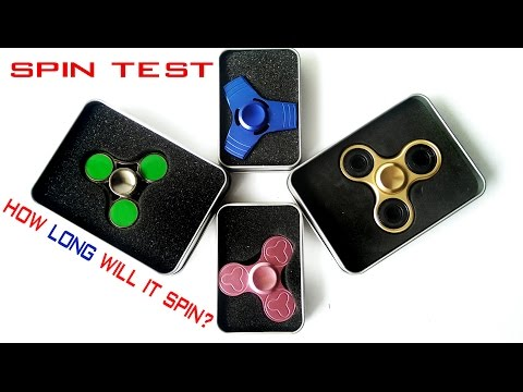 Premium Hand spinners unboxing and spin test