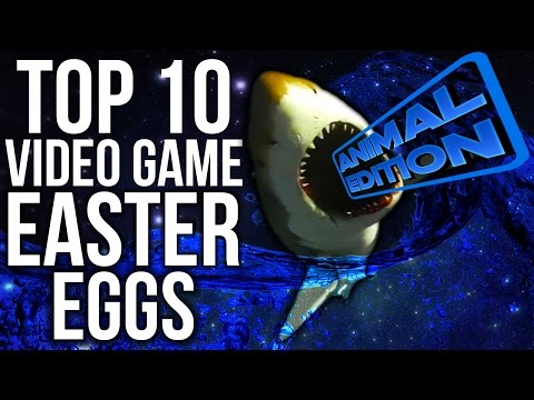 Top 10 Video Game Easter Eggs | Animal Edition