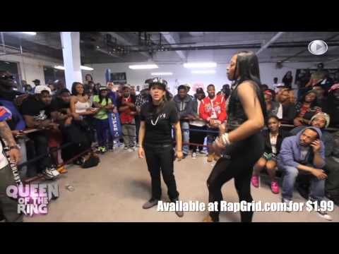 BABS BUNNY & VAGUE presents QUEEN OF THE RING MS FIT vs MS HUSTLE (TRAILER)