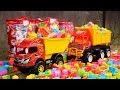 Dump Truck Transport  Building Blocks Toys | Construction Vehicles Dump Truck